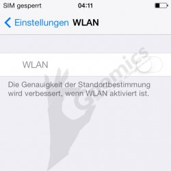 Reparatur iPhone 4S WLAN Defekt